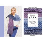 Yarn the After Party 71 - Lavender Trellis Wrap