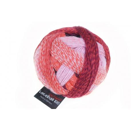 Schoppel Wolle Lace Ball 100 Red to go