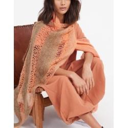 Doek - Cool Wool Lace Handdyed en Silkhair - Tücher & Co 5 (model 10)