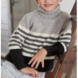Trui - Cool Wool Big - Lana Grossa Kids 11 (model 02)