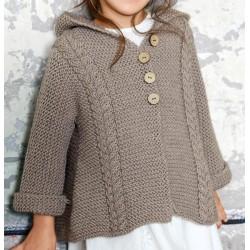 Vest - Bingo Mélange - Lana Grossa Kids 11 (model 11)