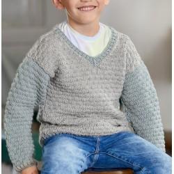 Trui - Cool Wool Big - Lana Grossa Kids 11 (model 16)