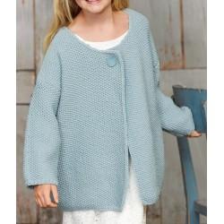 Vest - Bingo - Lana Grossa Kids 11 (model 17)
