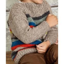 Trui - Brigitte No. 2 - Lana Grossa Kids 11 (model 22)