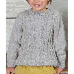 Trui - Cool Wool Big - Lana Grossa Kids 11 (model 26)