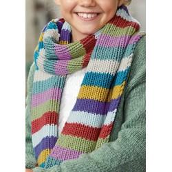 Sjaal - Bingo - Lana Grossa Kids 11 (model 28)