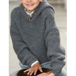 Trui - Bingo - Lana Grossa Kids 11 (model 32)