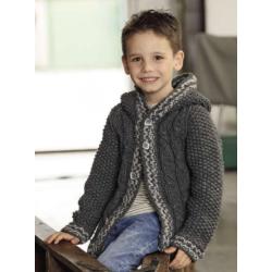 Vestje - Mille II - Lana Grossa Kids 11 (model 41)