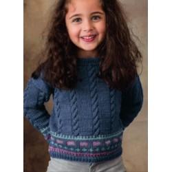 Trui - Cool Wool Big Melange - Infanti Best Of (model 82)