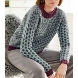Trui - Cool Wool Big & Cool Wool Big Mélange - Merino Edition 2 (model 30)