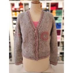 College vest - Alpaca Moda - Dol-op-Wol Design