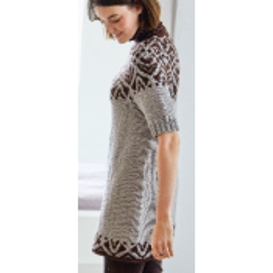 Jurk - Cool Wool Big Mélange & Cool Wool Big - Merino Edition 2 (model 33)