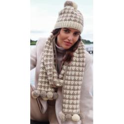 Muts + sjaal - Brigitte No. 2 - Accessoires 21 (model 12 en 13)