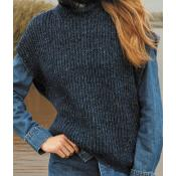 Slipover - Ecopuno Tweed - Journal 62 (model 38)