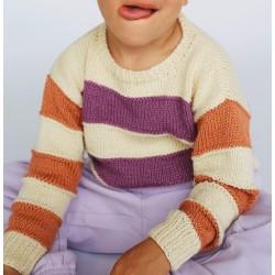 Trui - Alta Moda Cotolana - Lana Grossa Kids 12 (model 04)