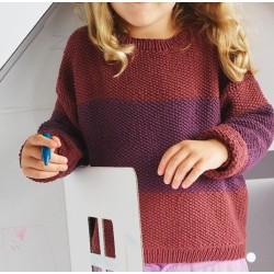 Trui - Elastico - Lana Grossa Kids 12 (model 05)