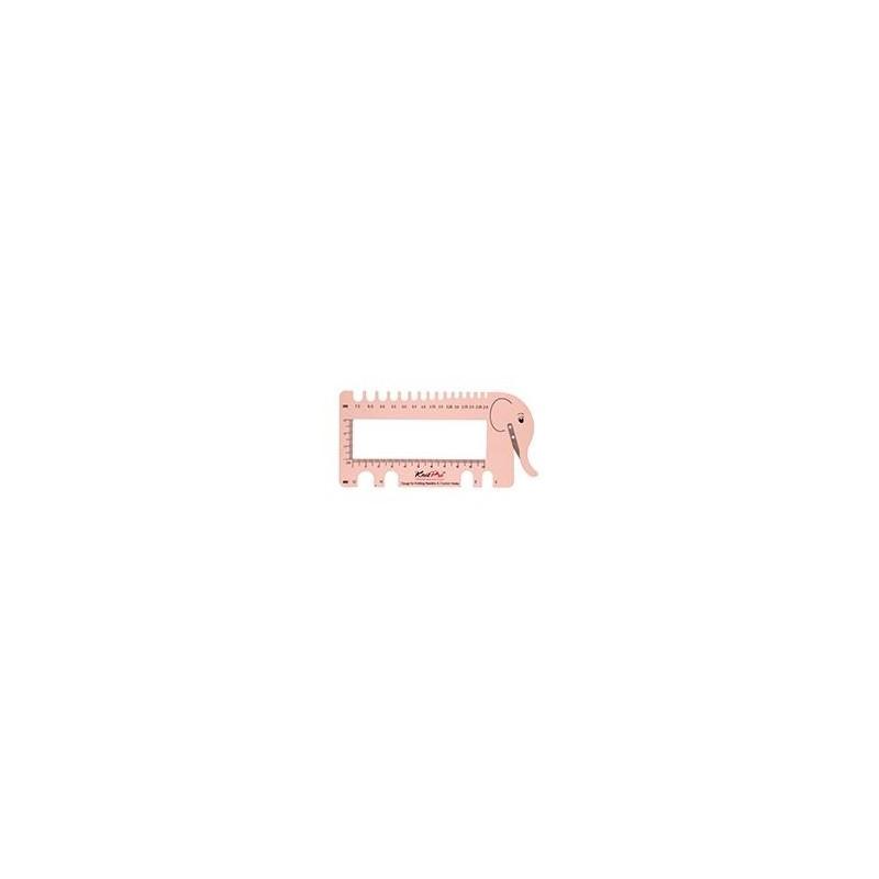 KnitPro Haaknaaldenmeter Roze
