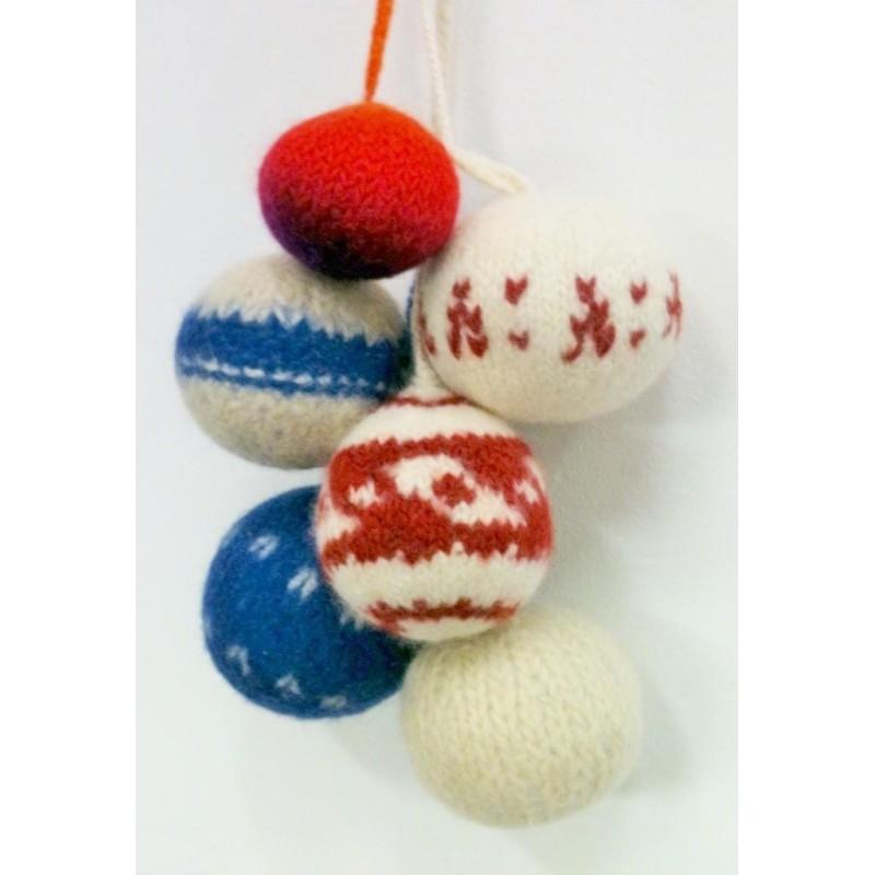 Vervilte kerstballen
