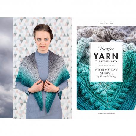 Yarn the after Party - Stormy day Omslagdoek