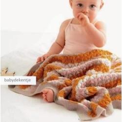 dekentje - Cool Wool Baby - Infanti Edition 1 (model 05)