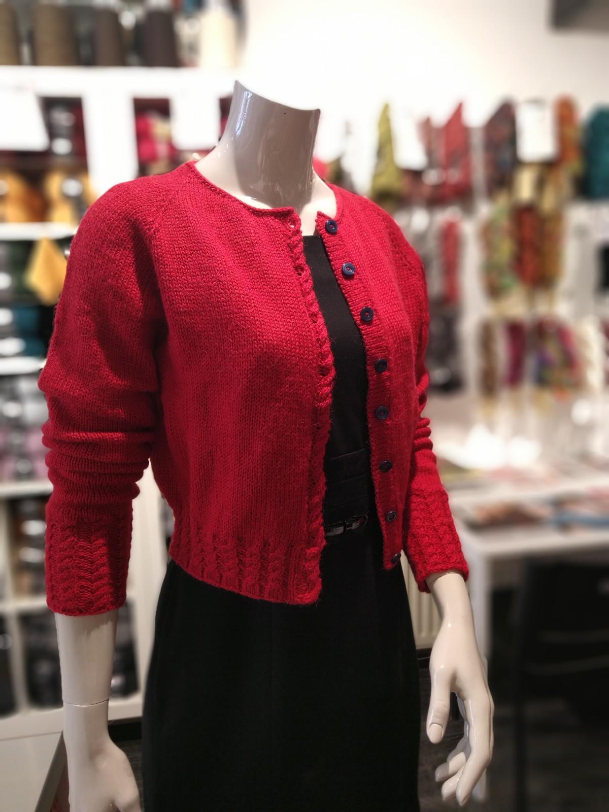 Blake vestje van Lana Grossa Cool Wool Alpaca