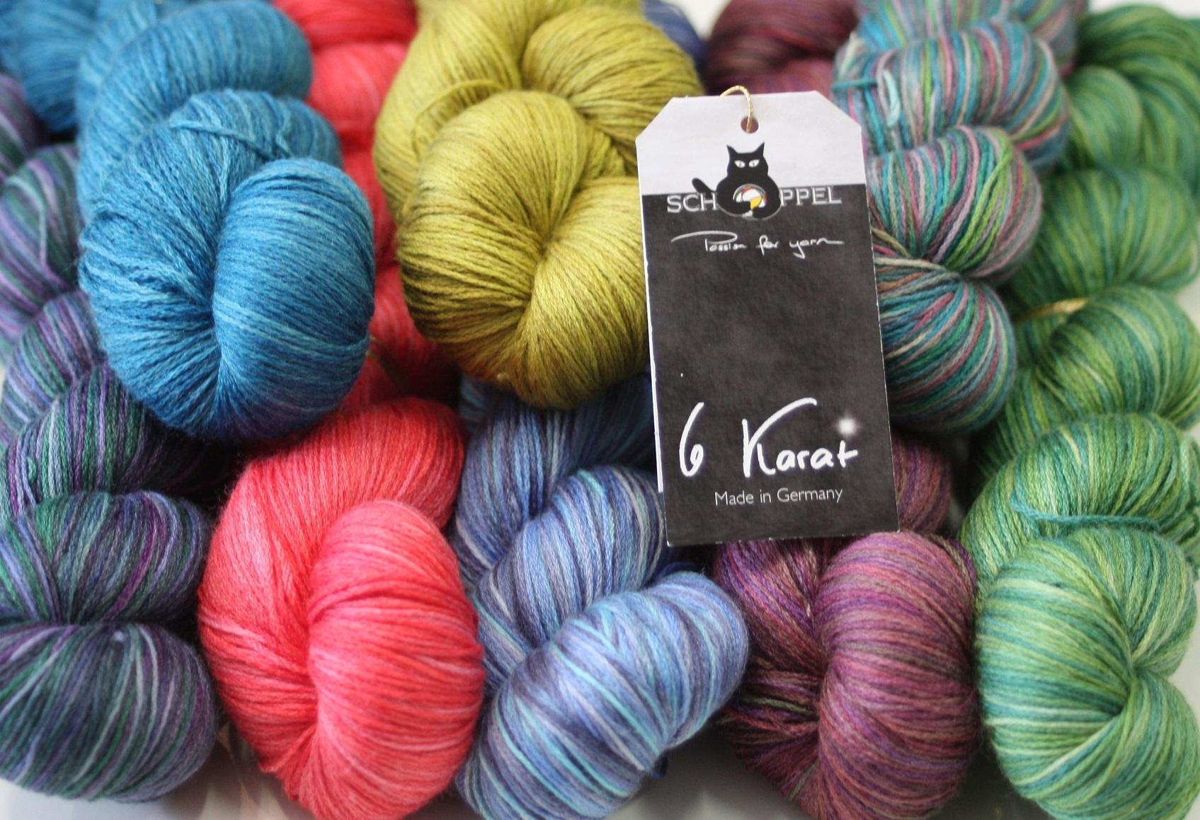 6 Karat Schoppel-Wolle