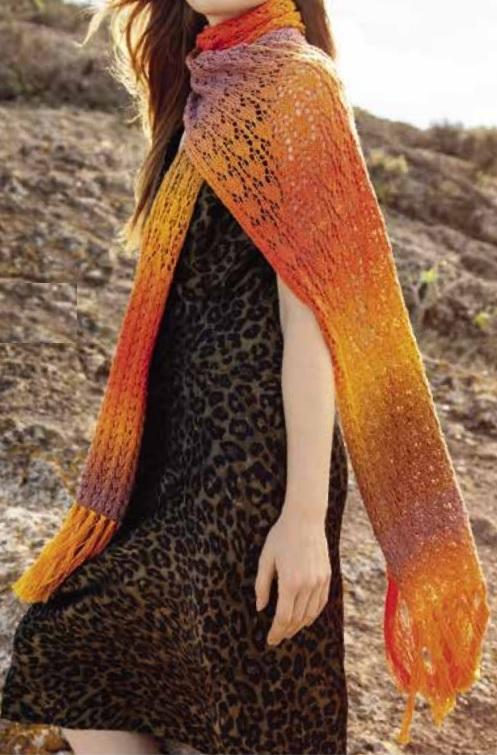 XL sjaal gomitolo 5 model 1