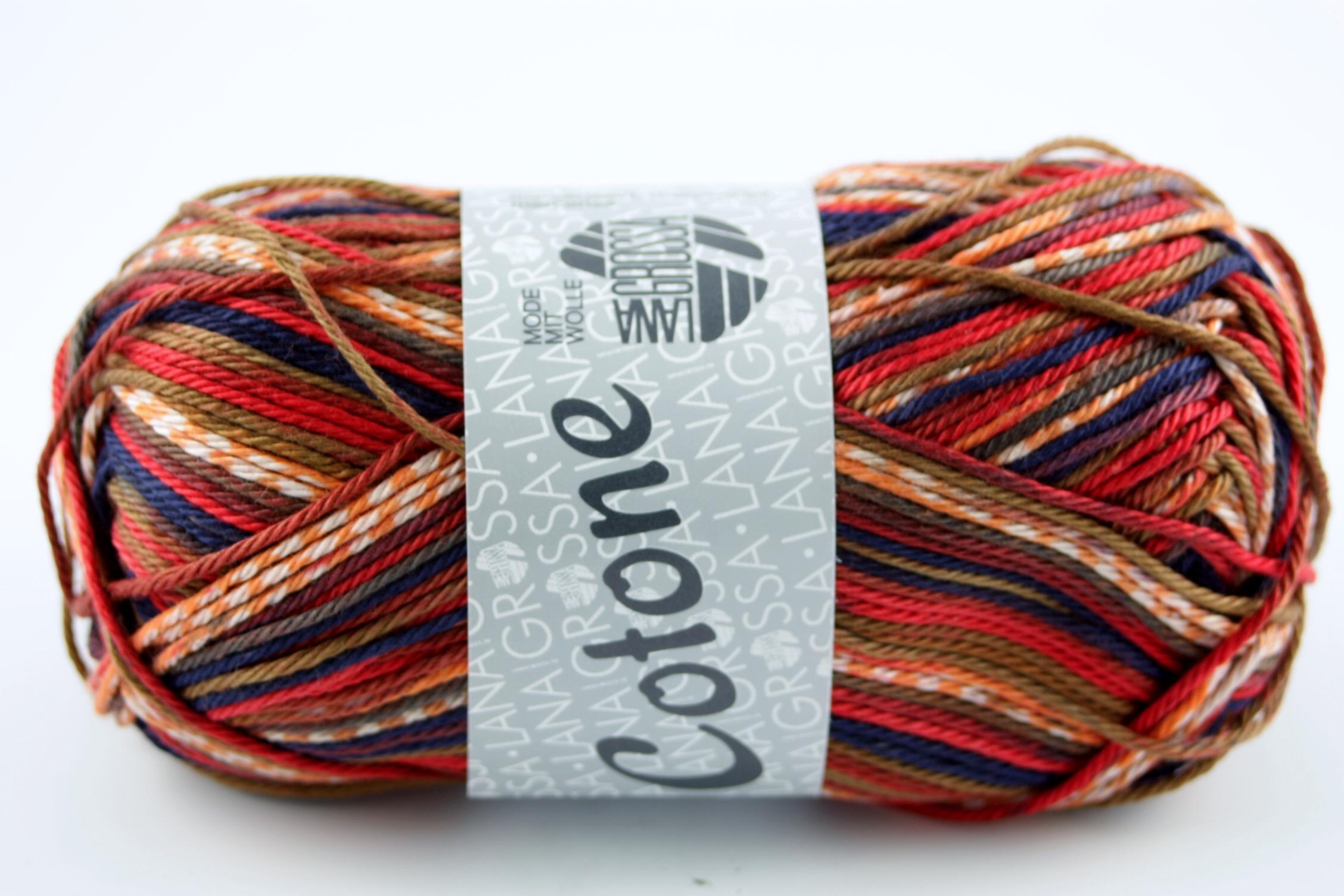 Lana Grossa Cotone Print 508