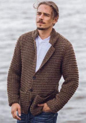 vest Classici 19 man van Lana Grossa mary's tweed