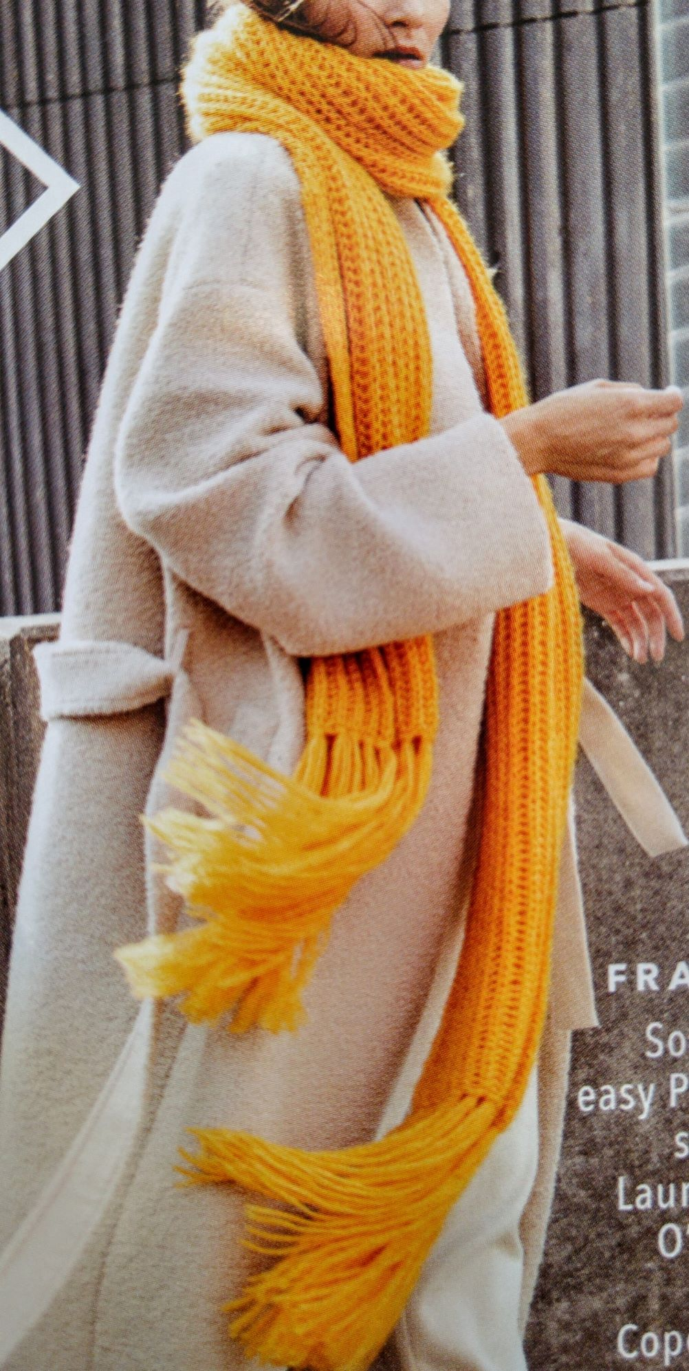 Sjaal - Brigitte No. 2 - Brigitte Booklet 25 (model 1)