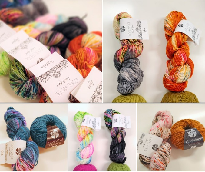 LAna Grossa Cool Wool Handdyed