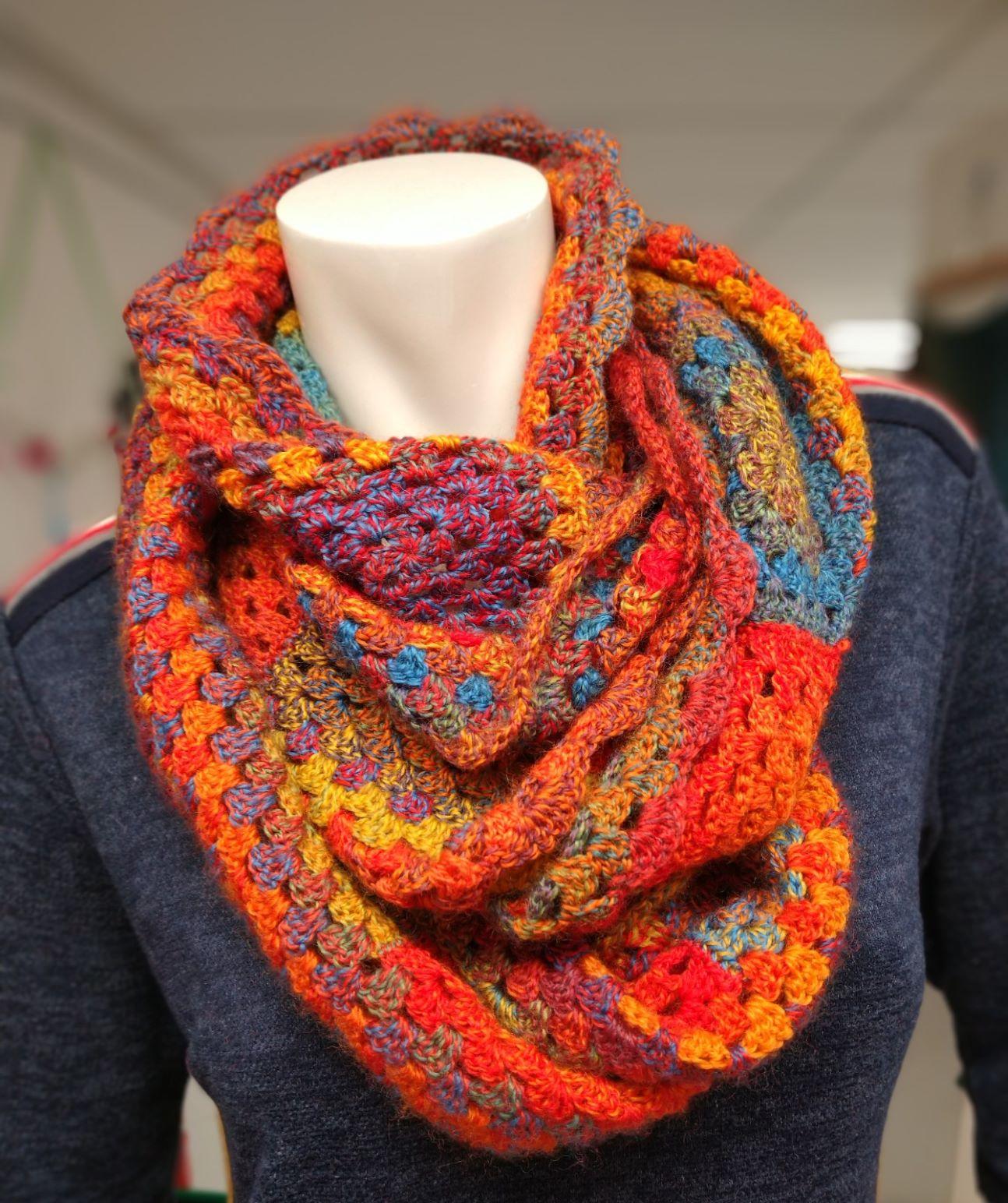 Crazy Zauberball sjaal